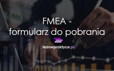 FMEA – formularz do pobrania